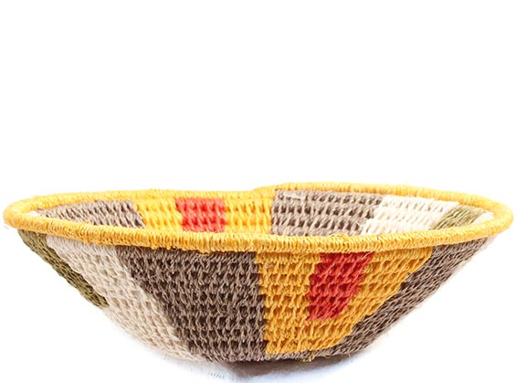 African Basket - Swaziland - Sisal Bowl -  4.75 Inches Across - #72660
