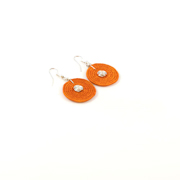Large Disk Spiral Earrings<br>SJE02OR