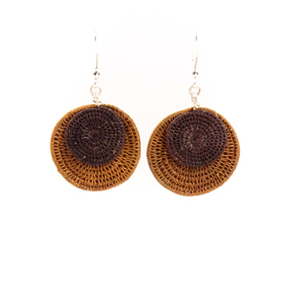 Large Eclipsing Disk Earrings<br>SJE06SP
