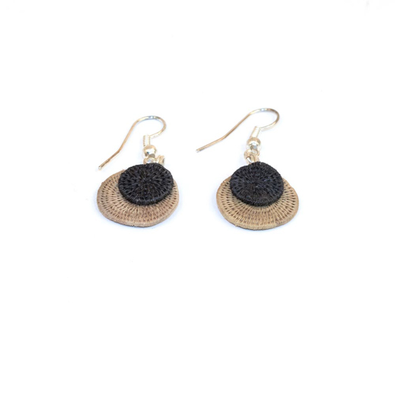 Small Eclipsing Disk Earrings<br>SJE07MP