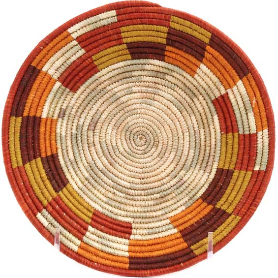 African Basket - Uganda - Rwenzori Bowl -  6.5 Inches Across - #65806