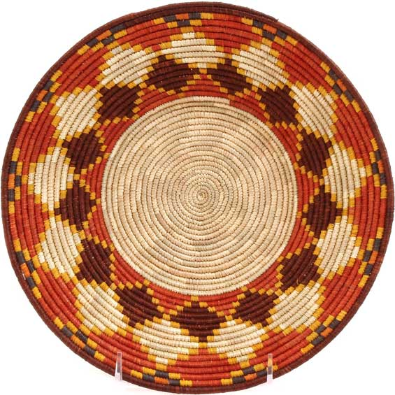 African Basket - Uganda - Rwenzori Bowl -  9.5 Inches Across - #67804
