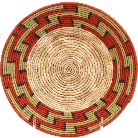 African Basket - Uganda - Rwenzori Bowl -  7.5 Inches Across - #67814