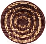 African Basket - Uganda - Njulu Open Weave Bowl - 16 Inches Across - #UR4316