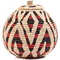 African Basket - Zulu Ilala Palm - Ukhamba -  8 Inches Tall - #64108