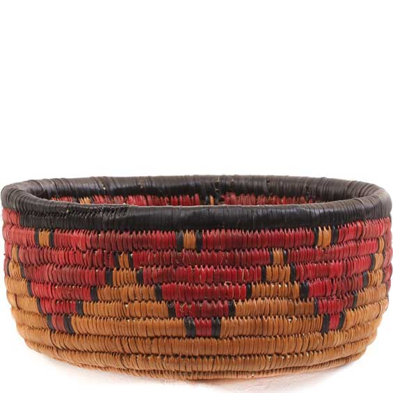 African Basket   Zulu Ilala Palm   Iqoma Bowl   7 Inches Across   #64394 Awesome Ideas