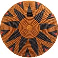 African Basket - Zulu Ilala Palm - Shallow Bowl - 15 Inches Across - #64405