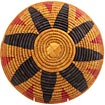 African Basket - Zulu Ilala Palm - Shallow Bowl - 11.5 Inches Across - #64435