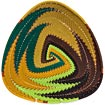 African Basket - Zulu Wire - Shallow Triangle #37255