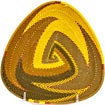 African Basket - Zulu Wire - Shallow Triangle #39533