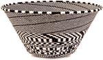 African Basket - Zulu Wire - Extra Large Funnel Bowl #39553
