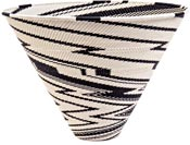 African Basket - Zulu Wire - Deep Funnel Bowl, Extra Large #39559
