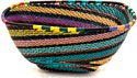 African Basket - Zulu Wire - Large Almost Square #39580