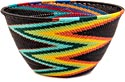 African Basket - Zulu Wire - Deep Bowl #39738