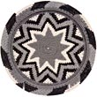 African Basket - Zulu Wire - Flat Coil Weave Plate -  7.5 Inches Across - #41740