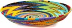 African Basket - Zulu Wire - Short Bowl #45695