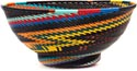 African Basket - Zulu Wire - Bowl with Base #45881