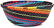 African Basket - Zulu Wire - Small Wide Bowl #47152