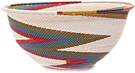 African Basket - Zulu Wire - Extra Large Bowl #47163