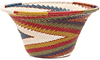 African Basket - Zulu Wire - Small Flared Bowl #47234