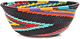 African Basket - Zulu Wire - Small Wide Bowl #47262