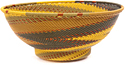 African Basket - Zulu Wire - Bowl with Base #47696