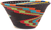 African Basket - Zulu Wire - Small Funnel Bowl #47709