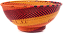 African Basket - Zulu Wire - Bowl with Base #48500