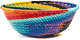 African Basket - Zulu Wire - Small Wide Bowl #48524
