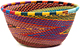African Basket - Zulu Wire - Small Bowl #48527