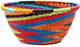 African Basket - Zulu Wire - Small Bowl #48528