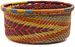 African Basket - Zulu Wire - Small Bowl with Straight Sides #48539