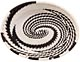 African Basket - Zulu Wire - Small Shallow Oval #50171