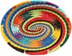 African Basket - Zulu Wire - Small Shallow Oval #50175