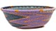 African Basket - Zulu Wire - Small Wide Bowl #50540