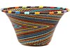 African Basket - Zulu Wire - Small Flared Bowl #50558