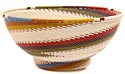 African Basket - Zulu Wire - Bowl with Base #50563