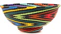 African Basket - Zulu Wire - Bowl with Base #50951