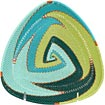 African Basket - Zulu Wire - Shallow Triangle #53318