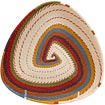 African Basket - Zulu Wire - Shallow Triangle #56588