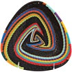 African Basket - Zulu Wire - Shallow Triangle #59977