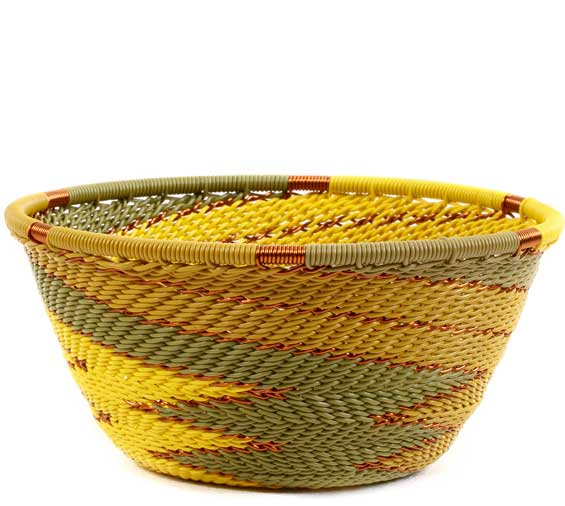 African Basket - Zulu Wire - Small Bowl #60513
