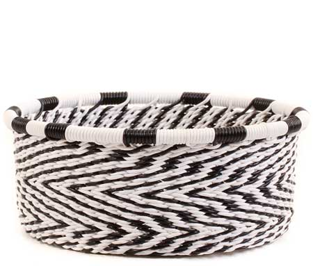 African Basket - Zulu Wire - Small Bowl with Straight Sides #60517