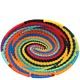 African Basket - Zulu Wire - Small Shallow Oval #62713