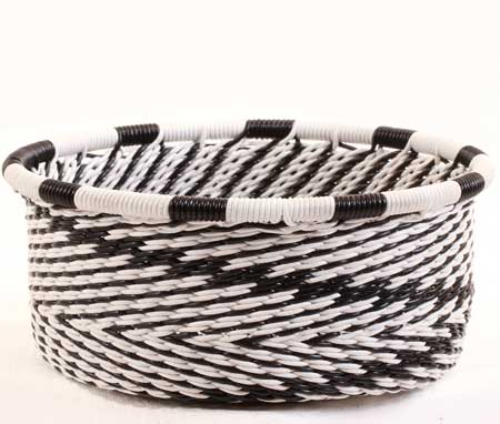 African Basket - Zulu Wire - Small Bowl with Straight Sides #62725