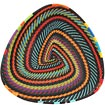 African Basket - Zulu Wire - Shallow Triangle #63377