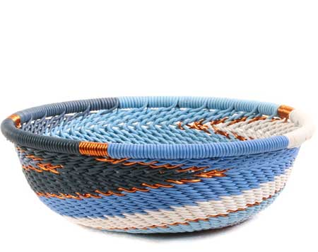 African Basket - Zulu Wire - Mini Bowl #63444
