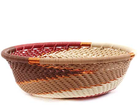 African Basket - Zulu Wire - Mini Bowl #64044