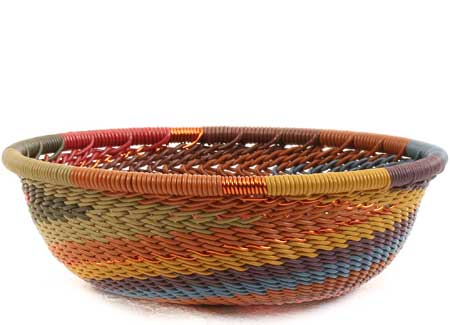 African Basket - Zulu Wire - Mini Bowl #64048