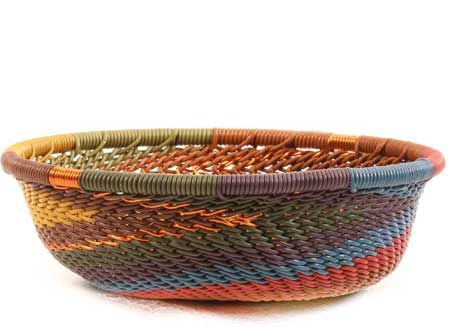 African Basket - Zulu Wire - Mini Bowl #64049